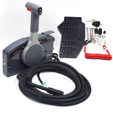 Outboard-Remote-Control-Box-10Pin-Cable-Right-703-Side-PUSH-Throttle